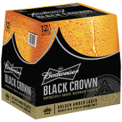 Bud Black Crown 12 Pack Bottles