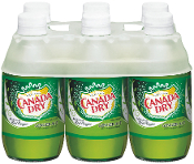 Canada Dry Ginger Ale 6 Pack