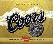 Coors 12 Pack Can