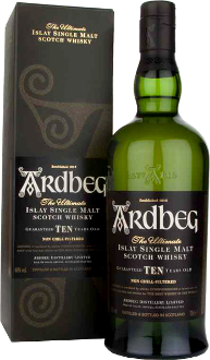 Ardbeg Scotch 10 Year 750mL