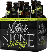 Stone Delicious IPA 6 Pack Bottles