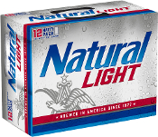 Natural Light 15 Pack Cans