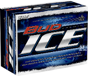 Bud Ice 12 Pack Cans