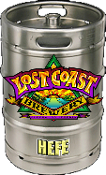 Lost Coast House Keg Hefe 15.5 Gallon Keg