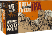 21st Amendment - Brew Free Blood Orange IPA 15 Pack