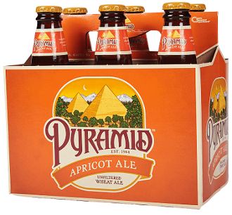 Pyramid Apricot 6 Pack Bottles