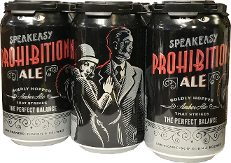 Speak Easy - Prohibition 6 Pack Cans