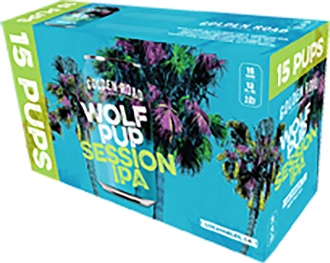 Golden Road - Wolf Pup Cans 15 Pack