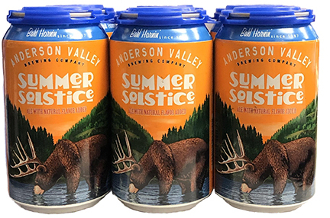 Anderson Valley Summer Solstice 6 Pack Cans