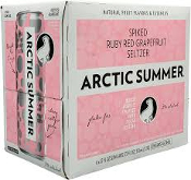 Arctic Summer Spiked Ruby Red Grapefruit Seltzer 6 Pack